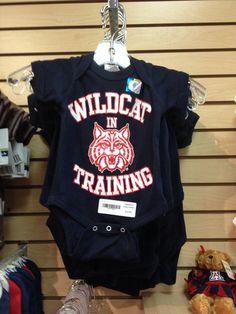 University of Arizona Wildcats Wildcat in Training Onesie – The Cat Cart