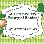 This is a fun emergent reader to add to your St. Patrick's Day activities.     I hope you enjoy my product. If you are unhappy in any way, please con...