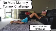 No Crunch Ab Challenge Diastasis Recti Exercises: Once you have a functional diastasis and have better core muscle strength and function then [. Post Baby Workout, Post Pregnancy Workout, Mommy Workout, Pregnancy Quotes, Pregnancy Info, Pregnancy Health, Fat Workout, Workout Videos, Exercices Diastasis Recti