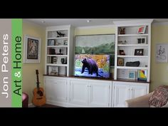 Here's the finished and installed TV Lift Cabinet with links out to the how to videos in this series. This project is sponsored by TVLiftCabinet.com http://w...