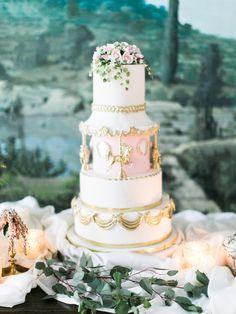 Cinderella Wedding Cake | photography by http://www.rachel-may.com/