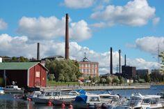 Vaasa, cotton factory (1857-1980).