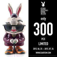 [ Playboy X Mighty Jaxx ]   Buy Now !   2015.06.25 - 07.24  www.coartism.com #Playboyarttoys #Playboy #Mightyjaxx #Coartism #Blitzway #Agoodcompany Good Company, The Collector, Playboy, Buy Now, Toys, Movie Posters, Stuff To Buy, Art, Activity Toys