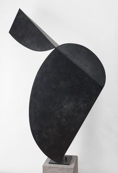 "noguchimuseum:  "" Isamu Noguchi, Pigeon, 1985, Bronze plate  (private collection)  Photo by Kevin Noble  The Noguchi Museum Archive  """