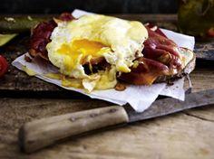 Käse-Ei auf Schinkenbrot #liekenurkorn