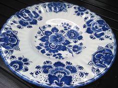 Vintage Delft Holland Ceramic Plate