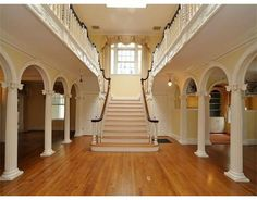 C 1901 Exquisite #staircase #romance #elegance #Boston