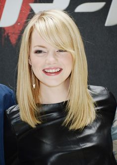 Emma Stone Hair. Love her and her style