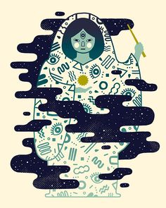 The Magician on Behance