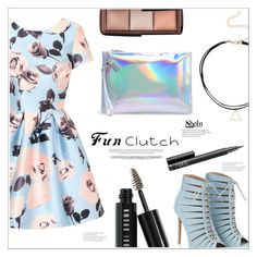 """Fun Clutch"" by mycherryblossom ❤ liked on Polyvore featuring Chi Chi, Bobbi Brown Cosmetics, NARS Cosmetics, clutches, polyvoreeditorial and polyvorestyle"