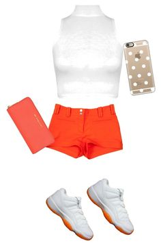"""Rocking the shoes citrus 11"" by mopatjones ❤ liked on Polyvore featuring Retrò, Versace, WearAll, MICHAEL Michael Kors and Casetify"