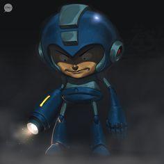 Megaman Created by Francisco Perez