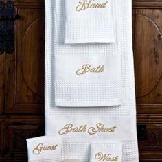 Luxury Towels - Schweitzer Linen cotton terry towels