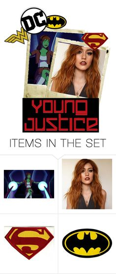 """""""M'oraa M'AARKS // young justice: Next Generation"""" by charlielove-899 ❤ liked on Polyvore featuring art"""