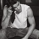 » Matt featured on Men's Fitness magazine Matt Bomer Fan