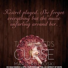 No Bent Spines: Teaser Thursday #6 The Winner's Curse