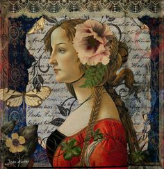 Portrait Of A Young Woman - Jean Hutter - Digital Views