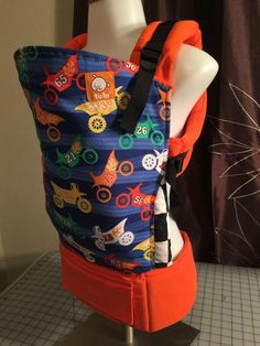 Motocross (Customized by TWO HEARTS TOGETHER) Tula Baby Carrier