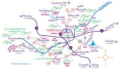 Get maps to the Asheville and western North Carolina area. North Carolina Real Estate, Asheville North Carolina, Western North Carolina, North Carolina Mountains, South Carolina, Smoky Mountains Hiking, Great Smoky Mountains, Appalachian Mountains, Downtown Asheville Nc