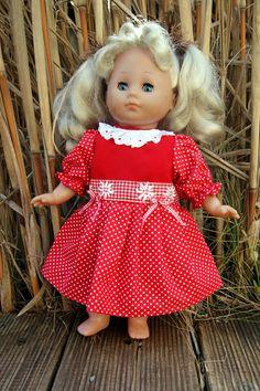 Puppenkleidung - Puppenkleid  - ein Designerstück von Landhausatelier bei DaWanda