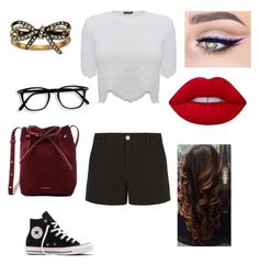 """""""Untitled #1214"""" by glamor234 on Polyvore featuring Alexander McQueen, Gucci, Converse, Mansur Gavriel, Marc Jacobs and Lime Crime"""