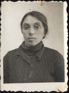 Baranow, Poland, A Jewish girl who perished in the Holocaust.