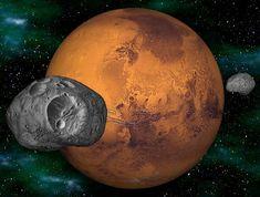 Спутник Марса Фобос: новые загадки