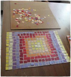 paper mosaik, Papiermosaik