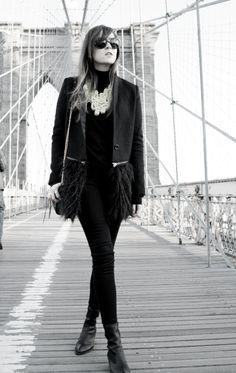 "Style Scrapbook: LOOK OF THE DAY ""BROOKLYN BRIDGE"""