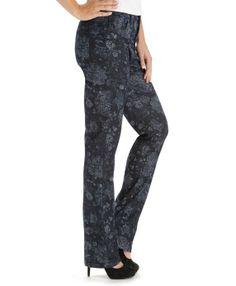 Lee Women's Jeans : Classic Monroe Straight Leg Jeans:Hydrangea - 8:M