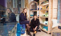 بريطانيان يفتتحان متجر صناعات يدوية لمساعدة ضحايا الحروب: من نافذة في زاوية صغيرة في شارع بيكر في لندن، يحاول إدموند لو بران و فلور دي…