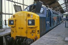37049 (ex later at March Depot on March (Andy Hoare) Electric Locomotive, Diesel Locomotive, 8th March, Train Room, British Rail, Diesel Engine, Tractor, Bridge, Blue