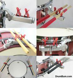 DrumStick Holders - DrumChat.com - Drummer Forum / DRUM FORUM for Drums
