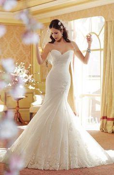 ロマンティックなマーメイドドレス♡花嫁衣装に着たいマーメイドウェディングドレスまとめ一覧♡