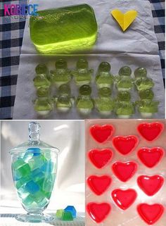 Pomysl na niebanalny prezent!!! ŻELOWE MYDEŁKA ♥♥♥