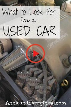 Trying to save money by buying a used car? Here's a great resource detailing what to look for when buying a used car, based on years of experience! And then bring it to Paul's Auto Service for a check up before buying! Car Checklist, Car Buying Guide, Buying First Car, Car Insurance Tips, Car Hacks, Diy Car, Car Shop, Car Cleaning, Car Accessories