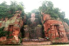 Leshan Giant Buddha, China.