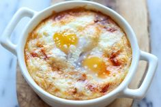 Italian Baked Eggs #breakfast