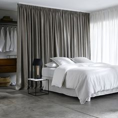 'Lincoln' Linen Curtain with Pinch Pleats AM.PM. | La Redoute Mobile