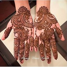 The Importance and Benefits of Mehndi at Traditional WeddingsFor Indian and Pakistani weddings, the celebratio Indian Mehndi Designs, Mehndi Designs 2018, Mehndi Designs For Girls, Modern Mehndi Designs, Mehndi Design Pictures, Wedding Mehndi Designs, Mehndi Designs For Fingers, Wedding Henna, Beautiful Mehndi Design