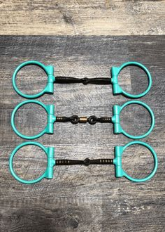Turquoise Powder Coated Sweet Iron Dee Snaffle Bits w/Copper Inlay – Andrea Equine Barrel Saddle, Barrel Racing Horses, Barrel Horse, Saddle Rack, Bits For Horses, Horse Bits, Western Horse Tack, Western Saddle Pads, Western Saddles