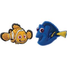 Jibbitz Charms - Licensed 2 Pack - Nemo & Dory Nite Ize. $3.49