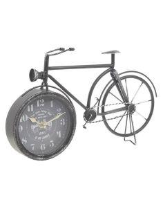 Ceas metalic, in forma de bicicleta Alarm Clock, Metal, Home Decor, Bicycles, Shapes, Projection Alarm Clock, Decoration Home, Room Decor, Alarm Clocks