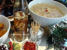Αλμυρό μενού Πρωτοχρονιάς 2018! Cheeseburger Chowder, Curry, Soup, Ethnic Recipes, Curries, Soups