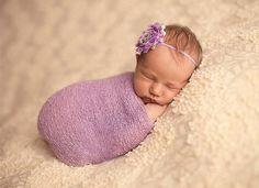 Stretch Knit Baby Wrap Newborn Photo Props