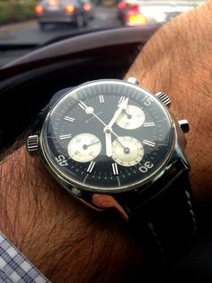 Omegaforums.net - Upon A Time — Gorgeous Vintage Zenith Chronograph Wrist Shot