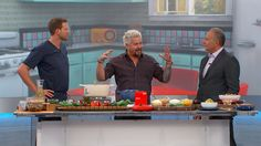 "Guy Fieri joins The Doctors to share some great family recipes from his new book, ""Guy Fieri Family Food."""