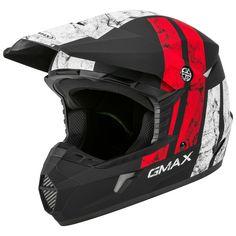GMax MX46 Dominant Helmet | 10% ($9.49) Off! - RevZilla Gmax Helmet, Teenage Girl Photography, Large Eyes, Aftermarket Parts, Motorcycle Helmets, Offroad, Dirt Biking, Bike, Matte Black