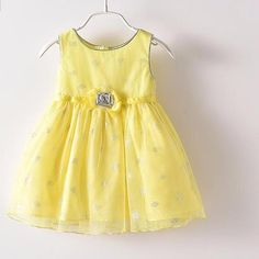 Cute chiffon kids dress