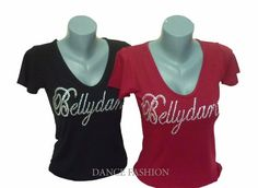Belly Dance T-Shirt Blouse Tribal Salsa Yoga by DancingQween8888